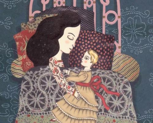 le fil de soie,cécile roumiguière,delphine jacquot,editions thierry magnier,album sur la transmission,album sur le rapport entre une grand-mère et sa petite fille