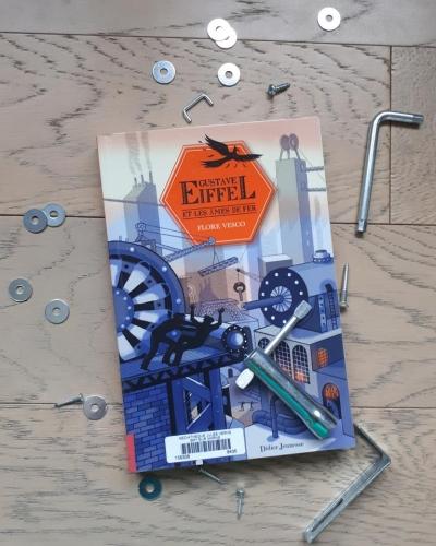 flore vesco,gustave eiffel et les âmes de fer,didier jeunesse,gustave eiffel,littérature jeunesse,roman pour adolescents
