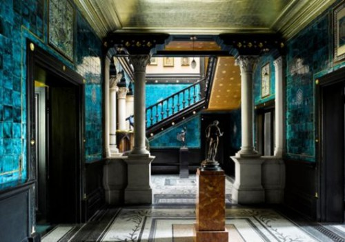 leighton house,londres,maison d'un peintre victorien,frédéric leighton,kensington