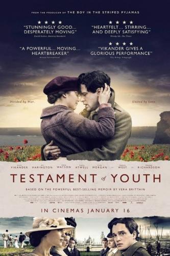 testament of youth,alicia vikander,kit harrington,dominic west,emily watson,vera brittain,film sur la première guerre mondiale