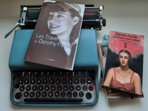 les traversées de dorothy parker, camille mancy, editions prisma, dorothy parker, roman, roman biographique, premier roman, littérature française, guerre d'Espagne