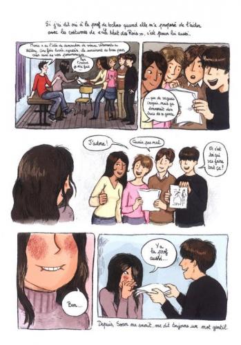 invisible,charlotte bousquet,stéphanie rubini,gulf stream éditeur,roman graphique,bande dessinée,maux d'adolescents,dépression