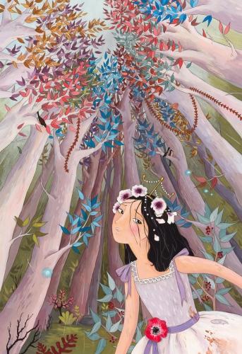 le cadeau de la princesse qui avait déjà tout,hubert ben kemoun,cécile becq,albin michel jeunesse,conte de fée,princesse