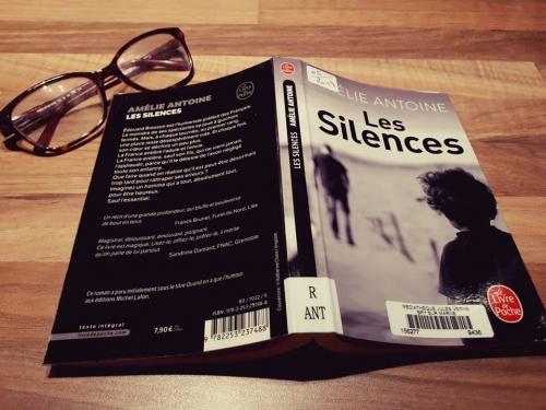 les silences,amélie antoine,livre de poche,père,fils,relation familiale,littérature française,coup de coeur