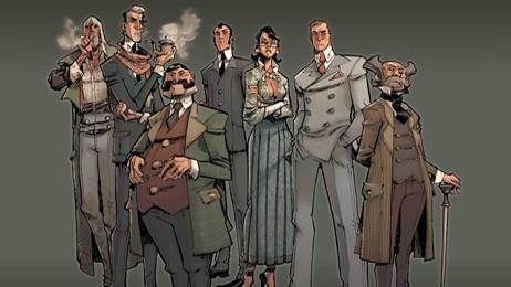 sept détectives,herik hanna,eric canette,delcourt,sept